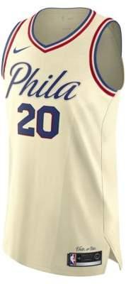 Nike Markelle Fultz City Edition Authentic Jersey (Philadelphia 76ers)