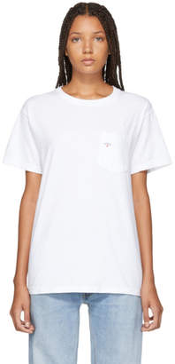 Noah NYC White Pocket T-Shirt
