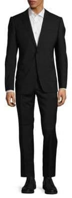 Armani Collezioni Plain Slim-Fit Suit