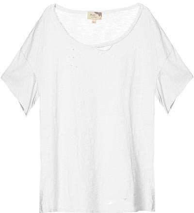 Elizabeth And James White Deconstructed Tee