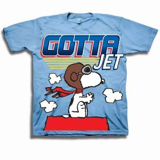 Peanuts Gotta Jet Toddler Boy Short Sleeve T-Shirt