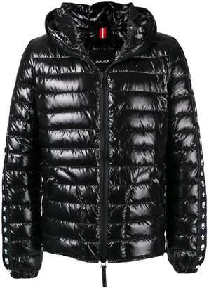 Hydrogen down filled puffer jacket