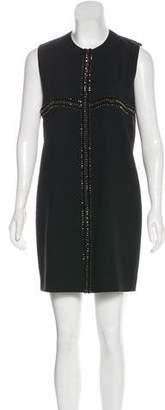 Saint Laurent Embellished Shift Dress