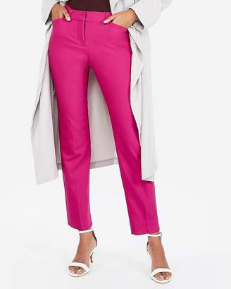 Express Mid Rise Ankle Curve Pant