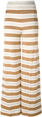 Twin-Set knitted palazzo pants $189.66 thestylecure.com