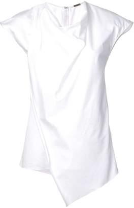 ADAM by Adam Lippes cowl neck asymmetric blouse
