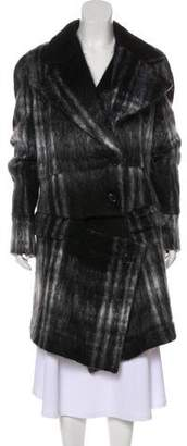 Christian Dior Long Mohair Coat w/ Tags