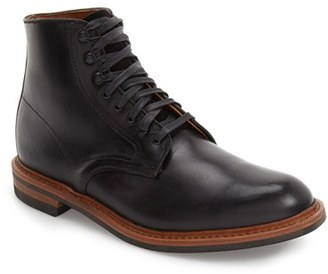 Men's Allen Edmonds 'Higgins Mill' Plain Toe Boot $350 thestylecure.com