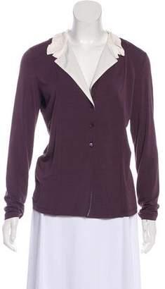 Fabiana Filippi Long Sleeve Button-Up Blouse w/ Tags