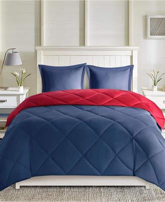 Madison Park Essentials Larkspur Reversible 3-Pc. Full/Queen Comforter Set Bedding
