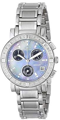 Invicta Women's 0610 Wildflower Collection Diamond Chronograph Watch