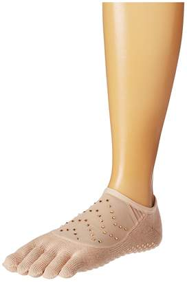toesox Luna Full Toe w/ Grip Women's No Show Socks Shoes
