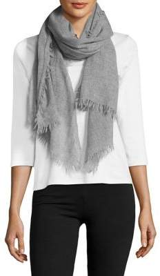 Lord & Taylor Cashmere Fringe Scarf