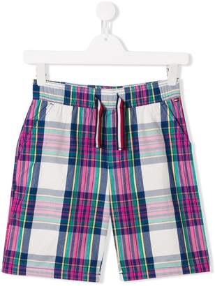 Tommy Hilfiger Junior TEEN checked shorts