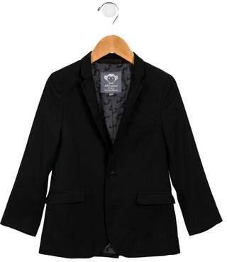 Appaman Fine Tailoring Boys' Notch-Lapel Button-Up Blazer