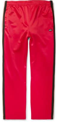 Stussy Striped Satin-Jersey Sweatpants