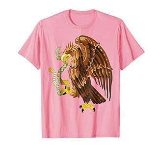 Eagle with Snake Men Women T Shirt