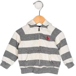 Ralph Lauren Boys' Striped Hooded Jacket