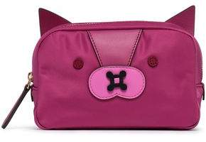 Anya Hindmarch Appliqued Shell Cosmetics Case