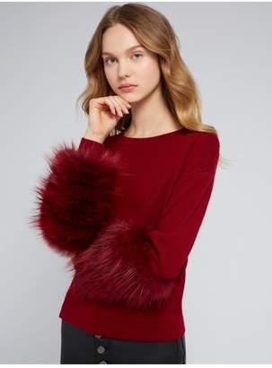 Alice + Olivia Shiela Round Neck Pullover