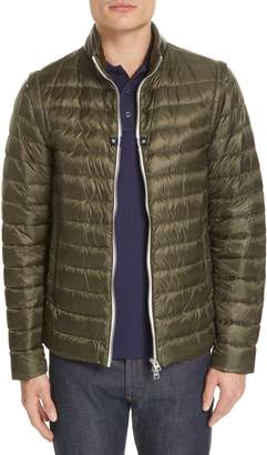 Herno Down Nylon Hybrid Jacket with Detachable Sleeves
