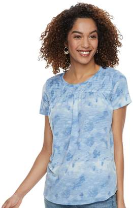 Sonoma Goods For Life Women's SONOMA Goods for Life Smocked Tee