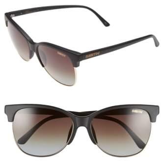 Smith 'Rebel' 57mm Cat Eye Sunglasses