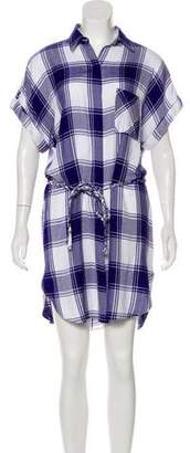 Rails Plaid Mini Shirtdress
