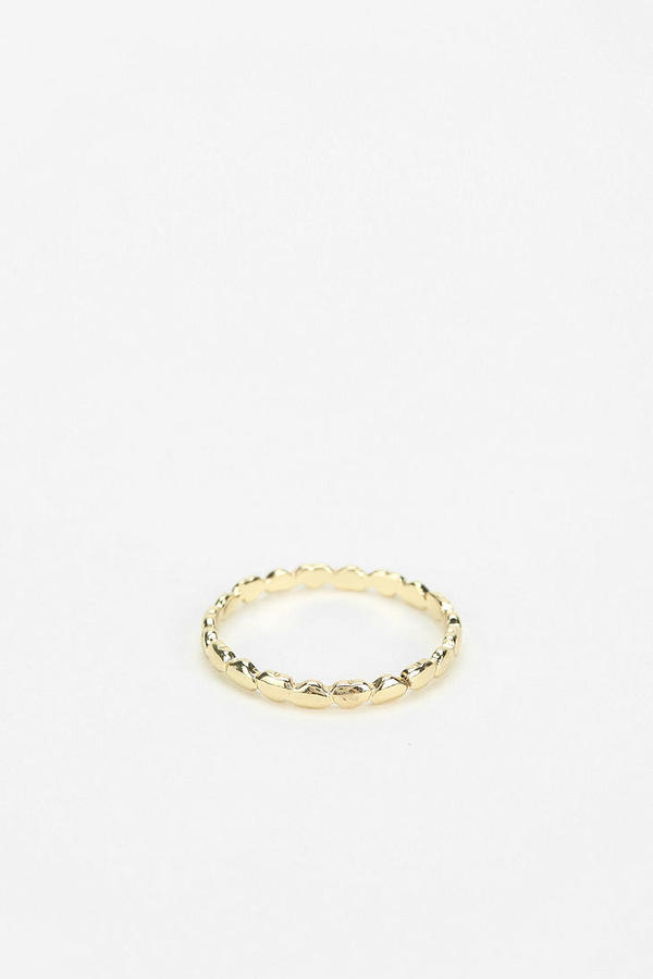 Urban Outfitters Forever Hearts Midi Ring