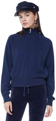 Juicy Couture French Terry Regal Crest Track Jacket