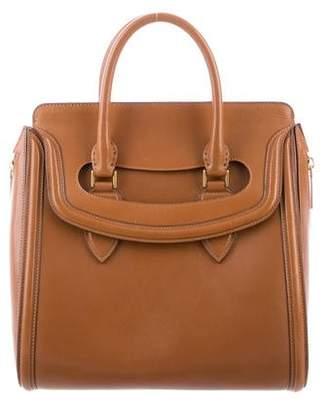 Alexander McQueen Medium Leather Heroine Bag