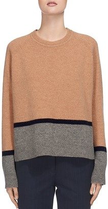 Whistles Color-Block Sweater $210 thestylecure.com