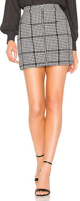 NBD x Naven Moto Skirt