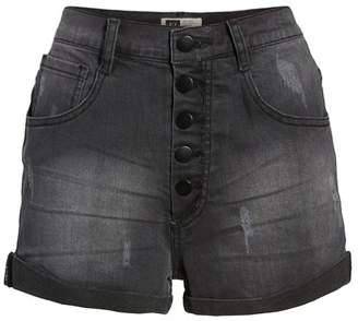 LIRA Rachel High Waisted Denim Shorts