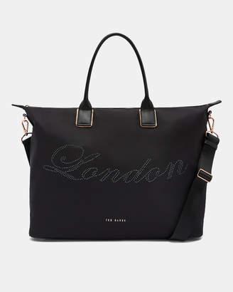 Ted Baker JACINA Large embellished tote bag