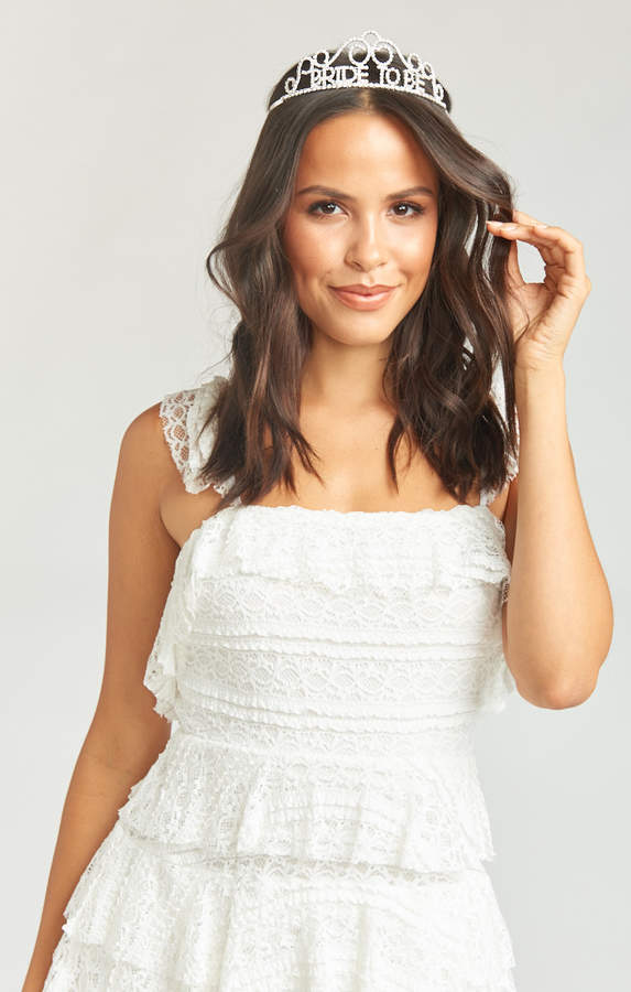 Show Me Your Mumu Bride to Be Tiara ~ Silver