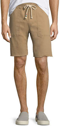 Sol Angeles Twill Cotton-Blend Saddle Shorts