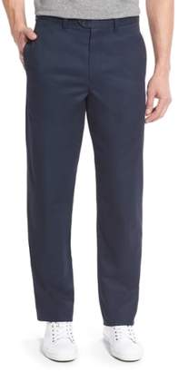 Nordstrom Smartcare(TM) Classic Supima(R) Cotton Flat Front Trousers