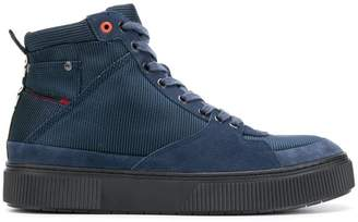 Diesel lace-up boots