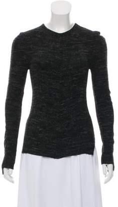 Celine Céline Medium-Weight Wool-Blend Sweater Black Céline Medium-Weight Wool-Blend Sweater