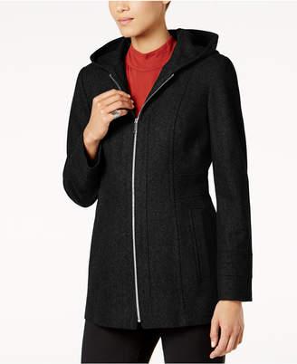 London Fog Hooded Walker Coat