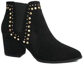 Bamboo Studded Bootie