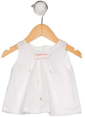 Poeme & Poesie Girls' Embroidered Sleeveless Top w/ Tags