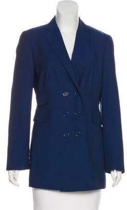 Akris Punto Wool Double-Breasted Blazer