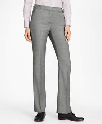 Brooks Brothers Sharkskin Stretch Wool Trousers