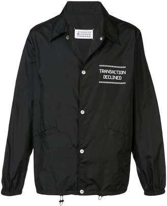 Maison Margiela slogan jacket
