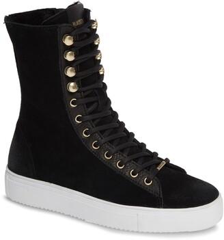 Blackstone QL50 Genuine Shearling Lined High-Top Sneaker Boot