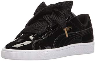PUMA Women's Basket Heart Patent Wn's Fashion Sneaker $74.99 thestylecure.com