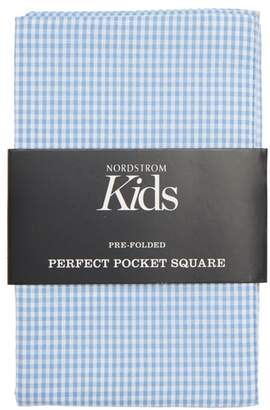 Nordstrom The Perfect Prefolded Gingham Pocket Square