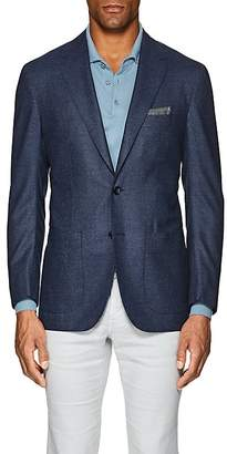 Sartorio Men's PG Neat Wool Two-Button Sportcoat